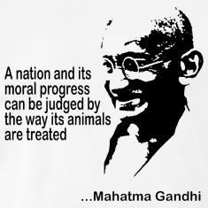 Mahatma-Gandhi-Animal-Rights-T-Shirt