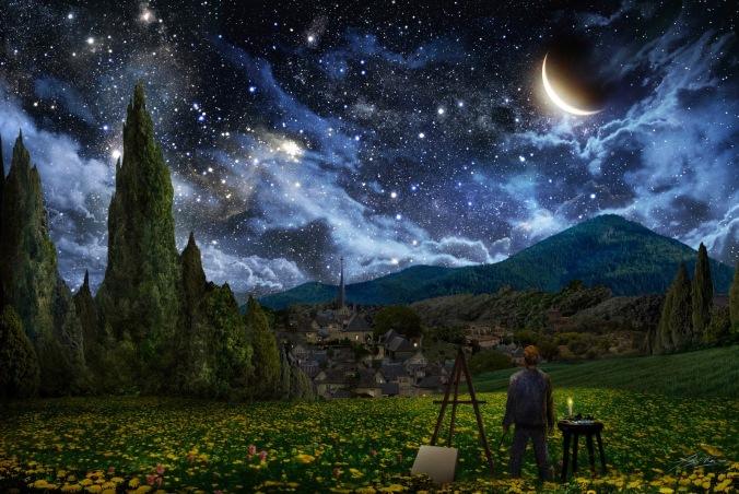 true-self-—-starry-night-tribute