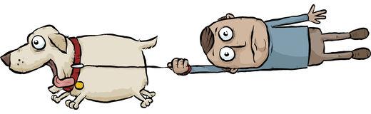 running-dog-cartoon-pulls-its-owner-leash-41557756