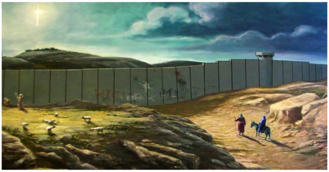 banksys-painting-of-joseph-and-mary-on-the-road-to-bethlehem-resurfaces
