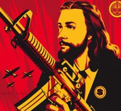 Image result for militant jesus